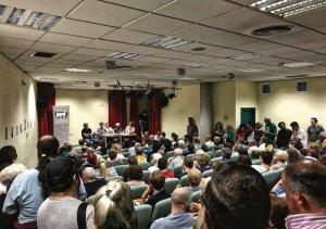 La convocatoria de la manifestación se decidió en la asamblea del 26 de octubre.