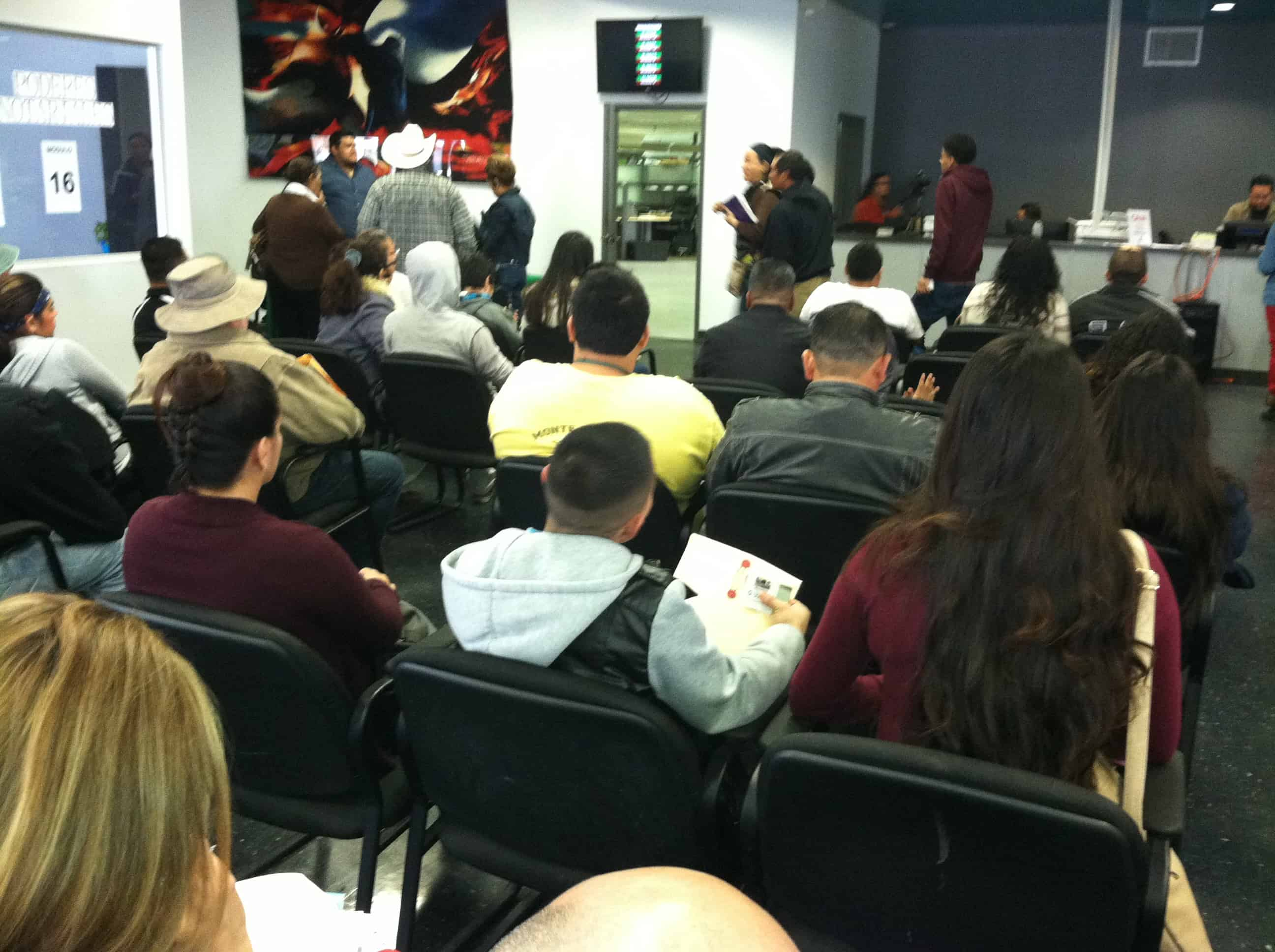 Accion Diferida en Fresno 8 Abril 2015 Consulado de Mexico