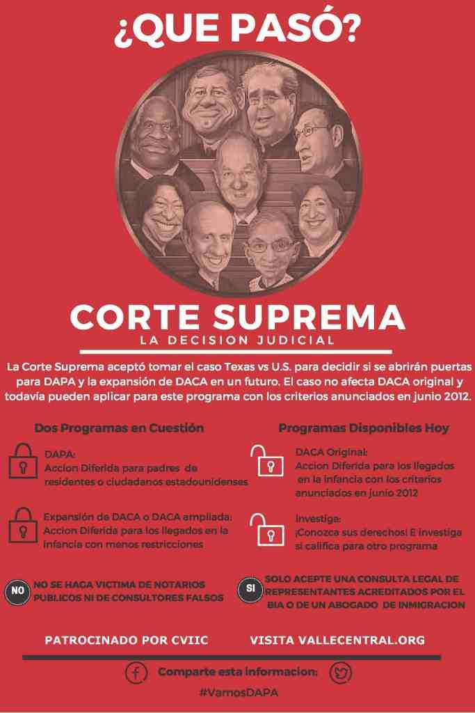 QUE PASO SUPREMA CORTE accion ejecutiva 1 19 2016