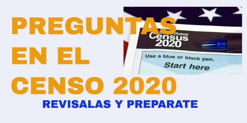 Preguntas en el Censo 2020 CVIIC