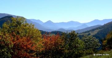 Paysage d'Auzet - vue vers le Col -r octobre 2006+