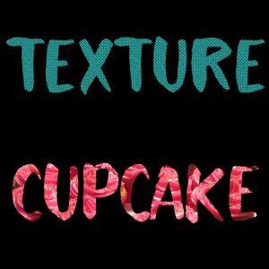 Texture Photo Font