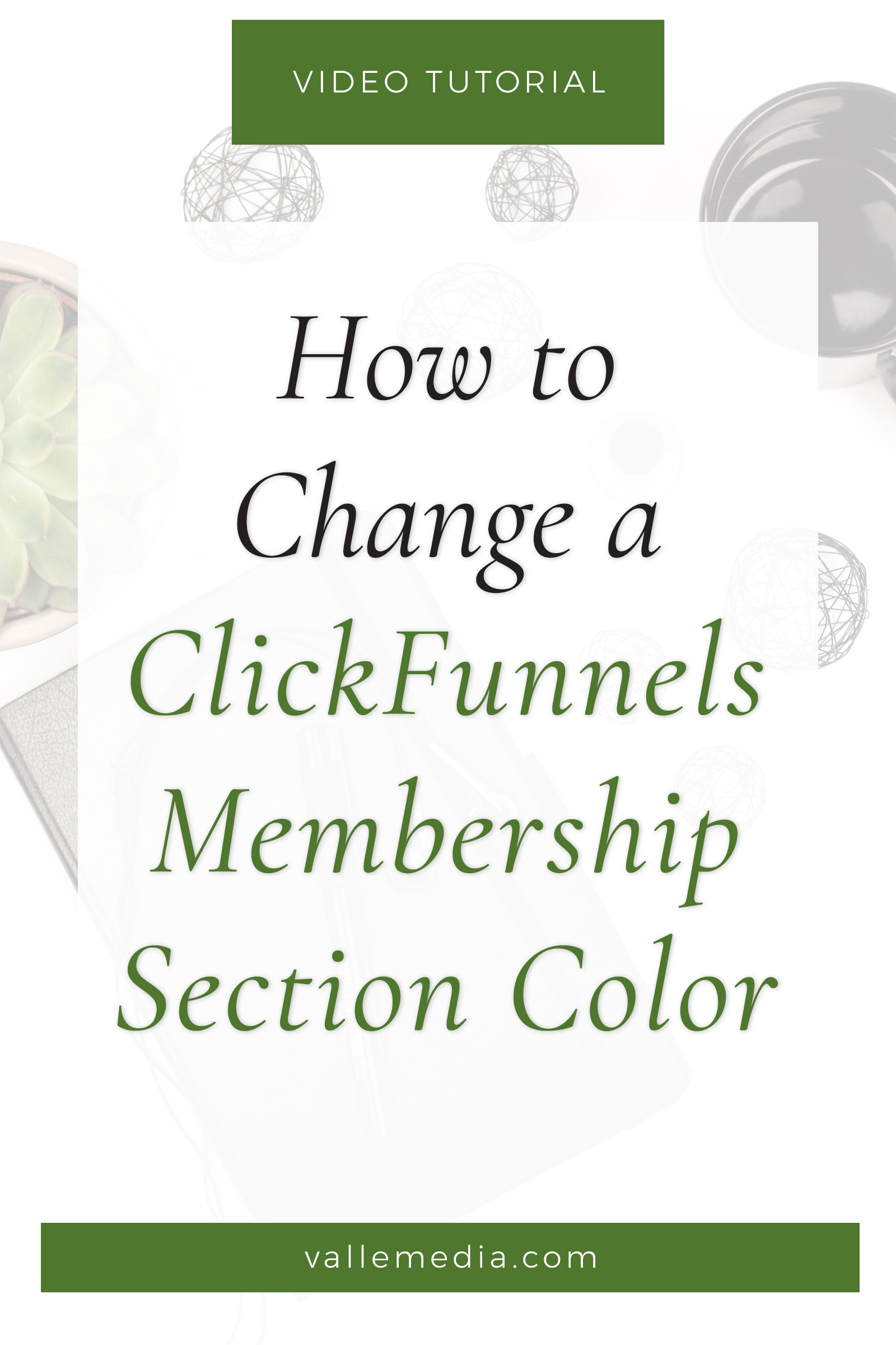 Step-by-step how to adjust the ClickFunnels membership section colors individually for a more on-brand look. Let\'s add a little personality to your learning area!