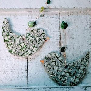 mosaic bird set