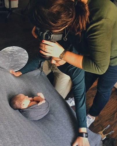 Paola Carmona photographs her favorite clientele. (Courtesy)