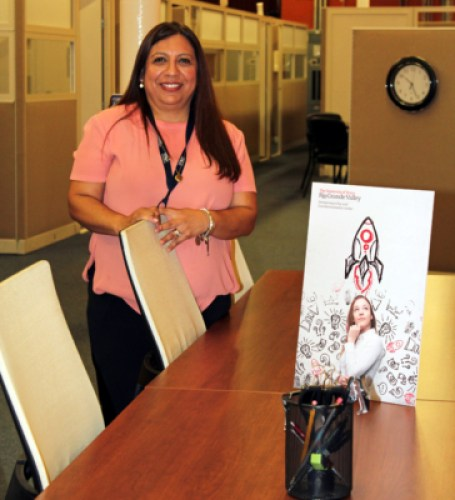 Linda Ufland is the manager of the Entrepreneurship and Commercialization Center in Brownsville. (VBR)