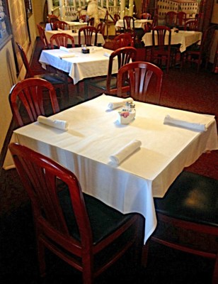 The dining room of Milano's offers an intimate setting in the family home turned restaurant. (VBR)
