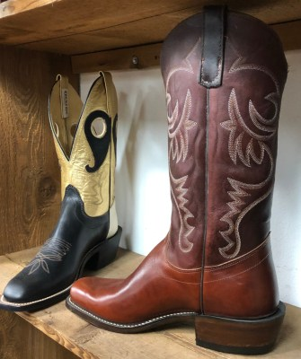Rios of Mercedes offers a range of styles and leathers for boots in different price ranges. (VBR)