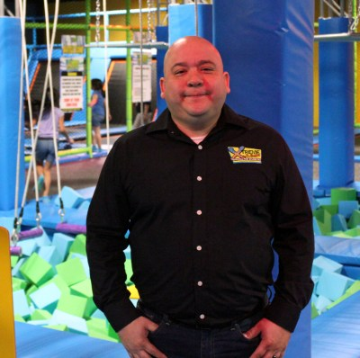Mario Martinez is a manager that oversees operations at different Xtreme Jump locations. (VBR)