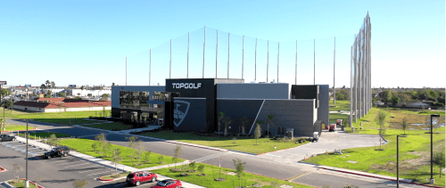 As a premiere entertainment venue in Pharr, Topgolf stands as the cornerstone of the development located on I-2. (Courtesy)