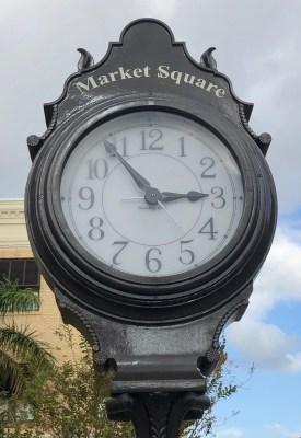 Clock at Market Square