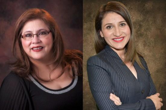 Escochea Salinas and Laura Matamoros, Hidalgo County