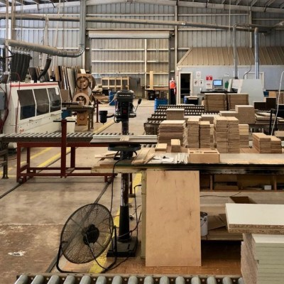 The Donna facility of Kapal Industries, a cabinet and countertops manufacturer.