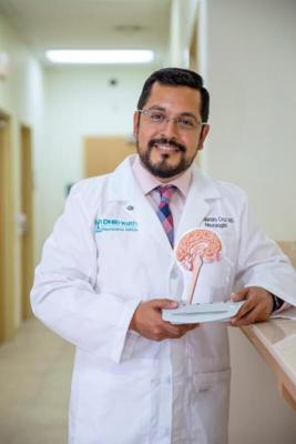 In August, Dr. Alejandro Cruz began seeing patients with MS at the DHR Health Neurology Institute.