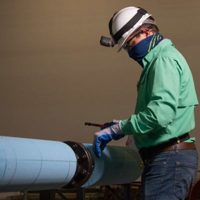 TSC is now offering a new workforce-training program – Industrial Insulation. (photo STC)