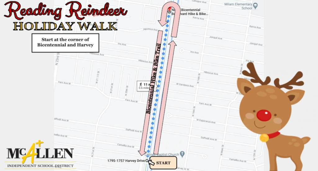 Reading Reindeer Walk