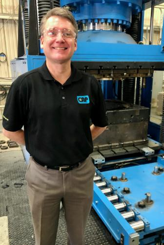 Chad Nunnery is a New England native with a successful business in McAllen.