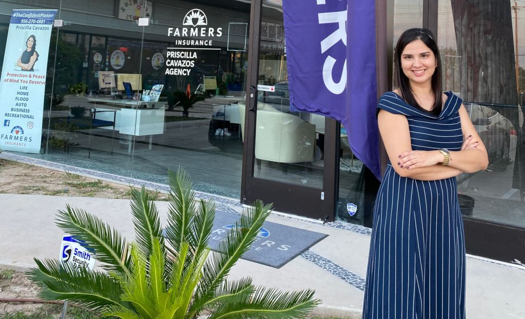 Priscilla Cavazos took her first job in the insurance industry at the age of 18, not imagining herself one day owning her own agency.