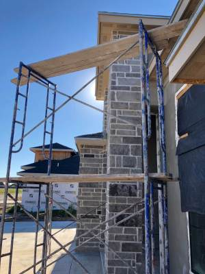Builders are competing for available labor in demand for new home construction.