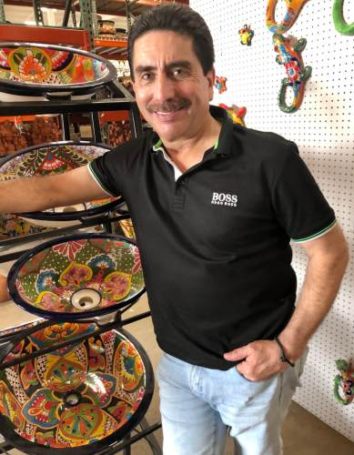 Fernando Pulido began his business career in 1979 with a records store in Nuevo Progreso.