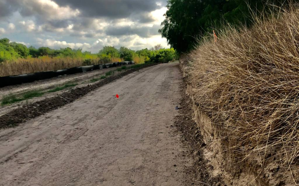 Construction is underway on the 1.6-mile extension of the arroyo trail to Dixieland Road in Harlingen.