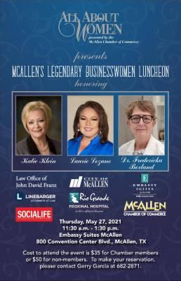 Legendary Businesswomen's Luncheon