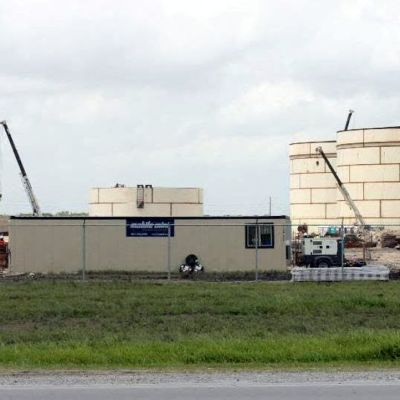 Sunoco's greenfield terminal at the Port of Brownsville. (photo Port of Brownsville)
