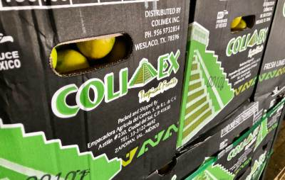 ColiMex of Weslaco ships out Mexican-grown limes from Michoacan, Veracruz and the Yucatan.
