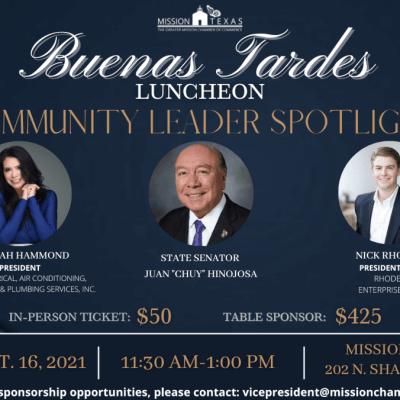 Buenas Tardes Luncheon, Sept. 2021