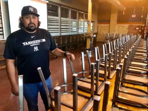 Eduardo Casas honors the history of Rainbo Bakery at his Harlingen BBQ restaurant.