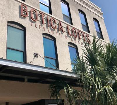 Botica Lofts near Market Square is an example of historic downtown building revitalizations serving new purposes.