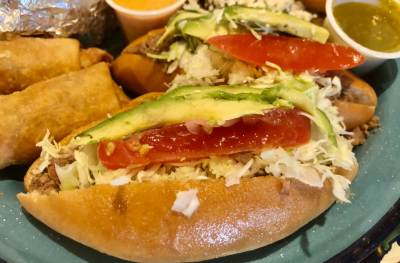 The lonche is a mainstay dish item at Nana's in Weslaco.