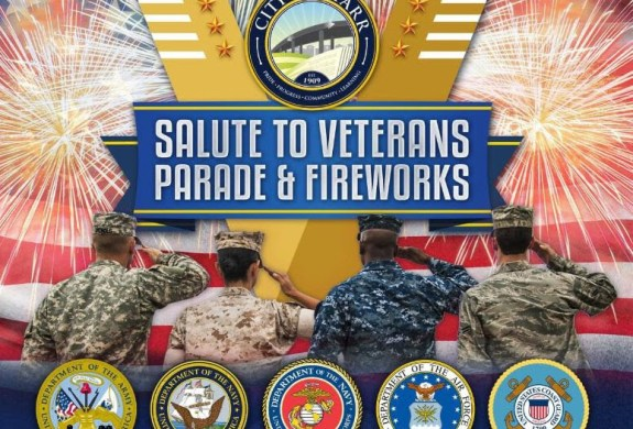 Pharr Salute to Veterans Parade and Fireworks event