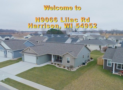 N9066 Lilac Rd, Harrison – 3 BR, Kimberly Schools.