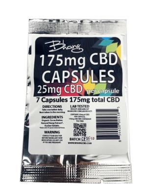 Bhang CBD Capsules 175 mg