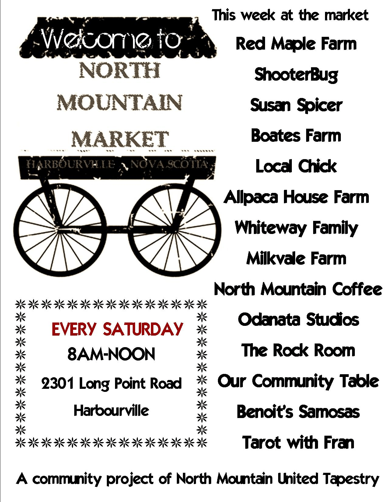 Farmer's Market at North Mountain United Tapestry