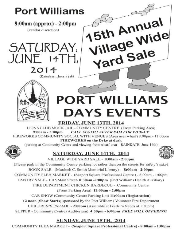 Port Williams Days at Community Centre, Port Williams