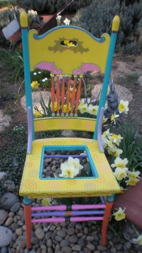 Painted Chairs | Valley Gardening