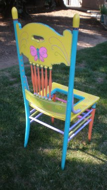 Painted Chairs Valley Gardening