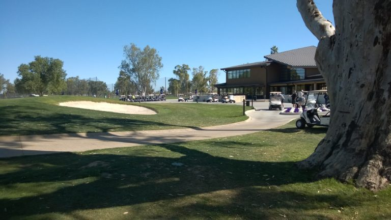 The newly redesigned Grand Canyon University Golf Course features the nostalgic beauty of a rich history as the former Maryvale Golf Course, as well as brand-new, state-of-the-art amenities for the modern golfer. This municipal golf course welcomes the local and GCU community to enjoy the game of golf from one distinct, challenging hole to the next.