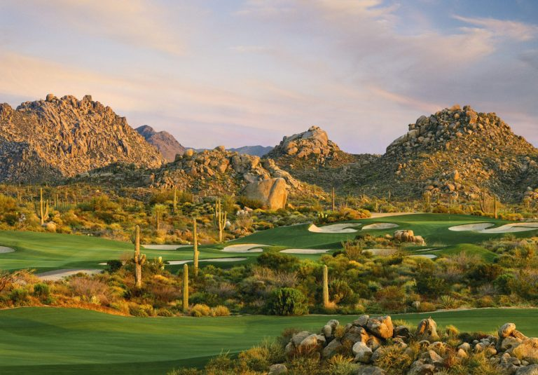 Troon North Golf Club Overview, Pinnacle Course Scottsdale, Arizona