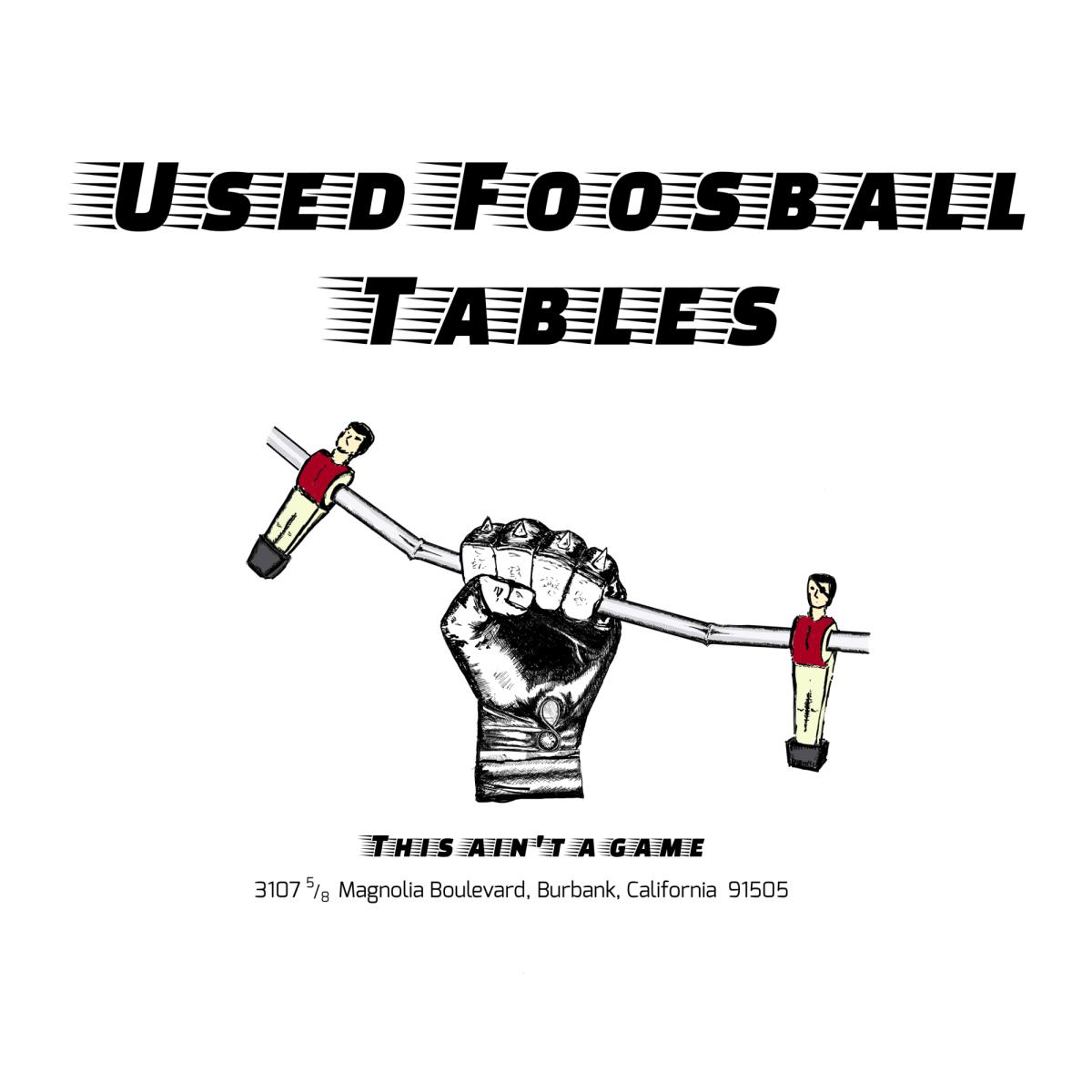 Used Foosball tables