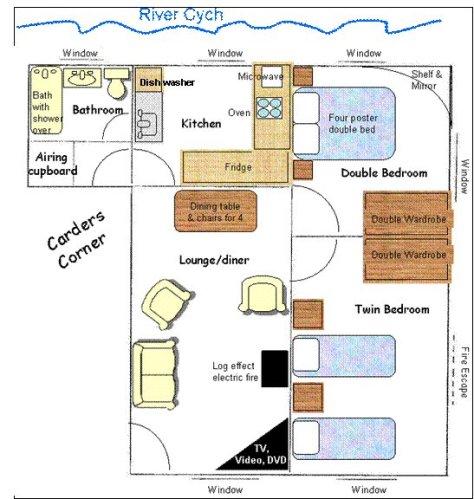 Carders Corner floor plan