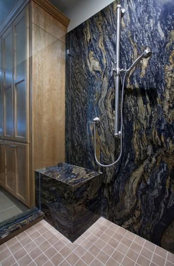 San Jose Master Bathroom Shower Detail (W-QC)