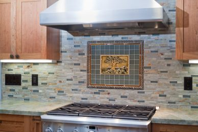 Sunnyvale Kitchen Custom Tile (OK)