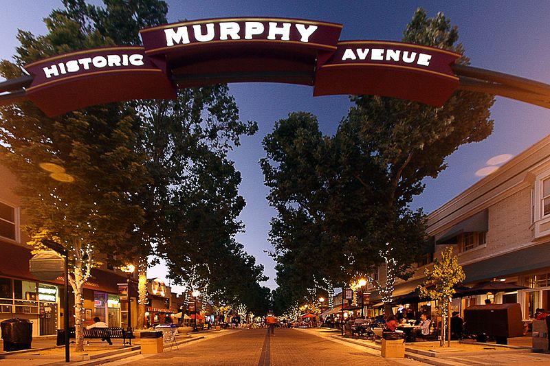 Murphy Avenue in Sunnyvale California