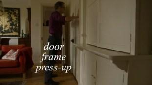 door frame press-up