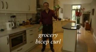 grocery bicep curl