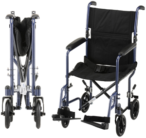 transport wheelchair nova chair rail for beadboard 19 with swing away footrests valley medical