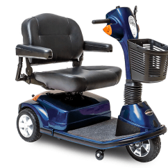 Bariatric Transport Chair 500 Lbs Rocking For Adults Pride Mobility Maxima (3 Wheel Scooter) Heavy Duty - Valley Medical Supplies